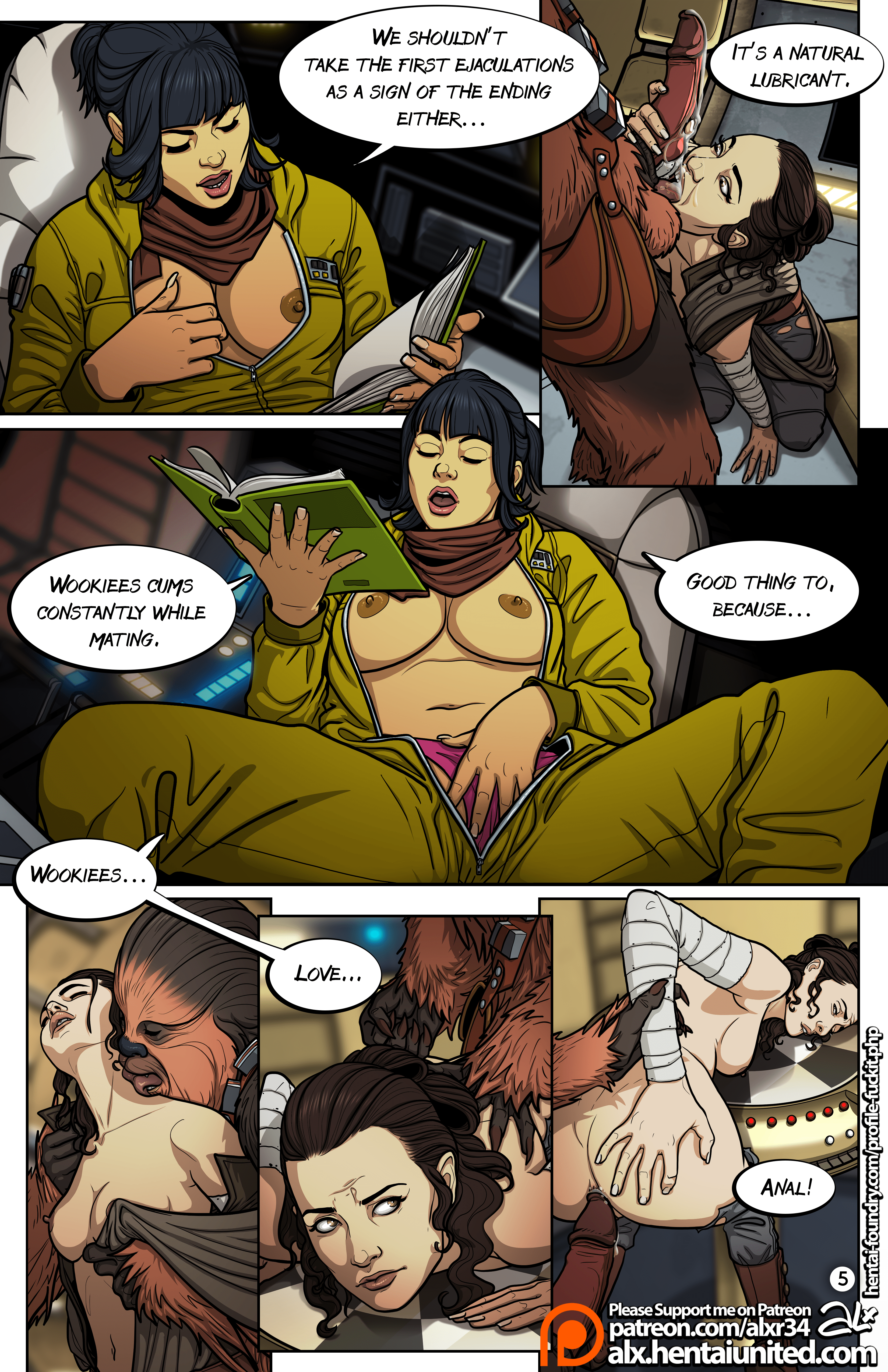 All Anime Porn Comic star wars a complete guide to wookie sex parody sex comics
