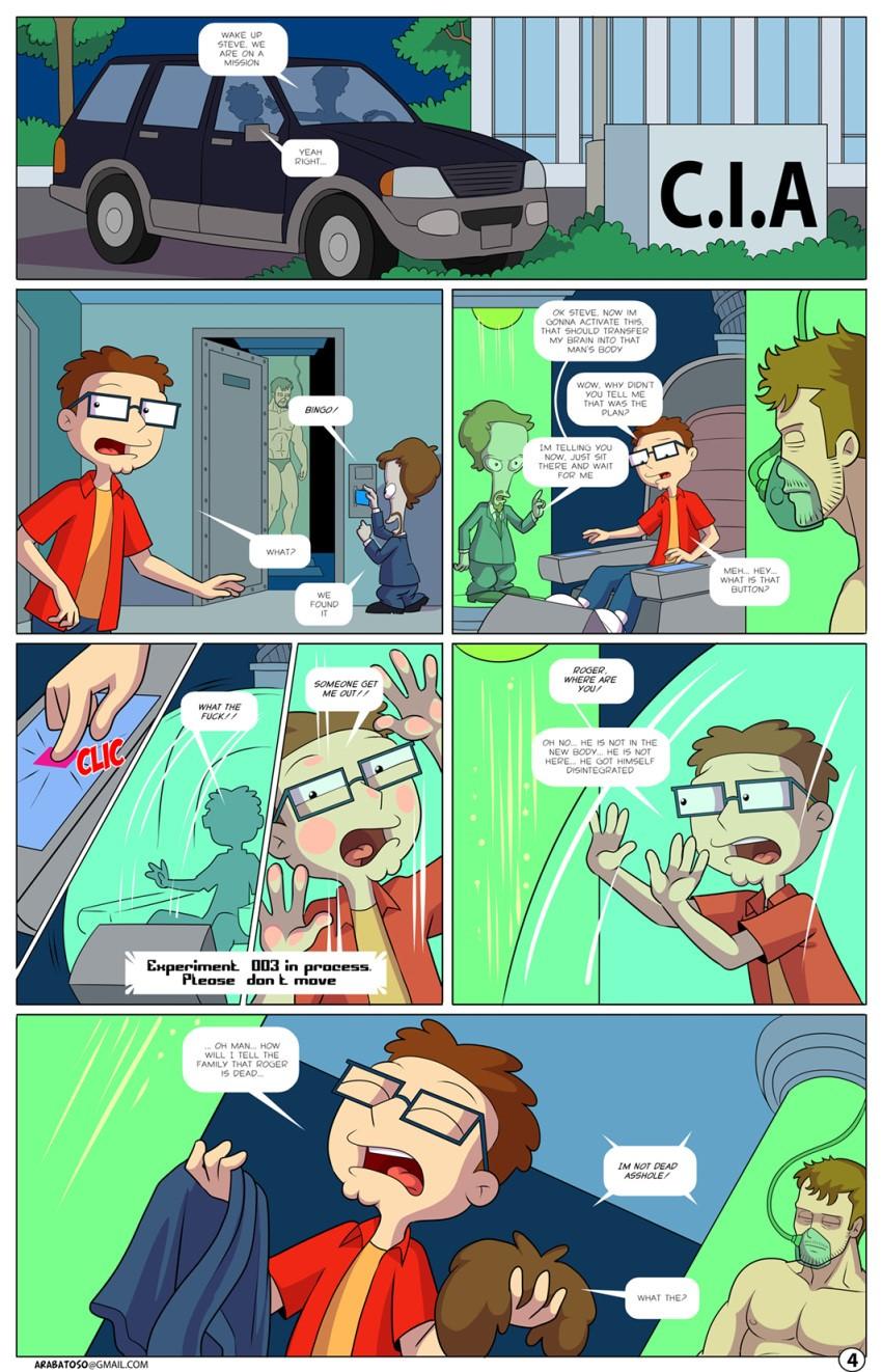 Arabatos Sex Comics - Tales Of An American Son parody on ...