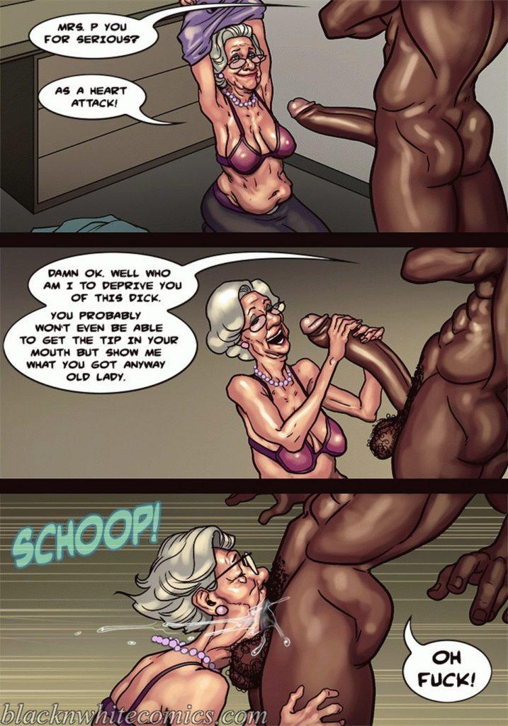 Grandma Cartoon Porn