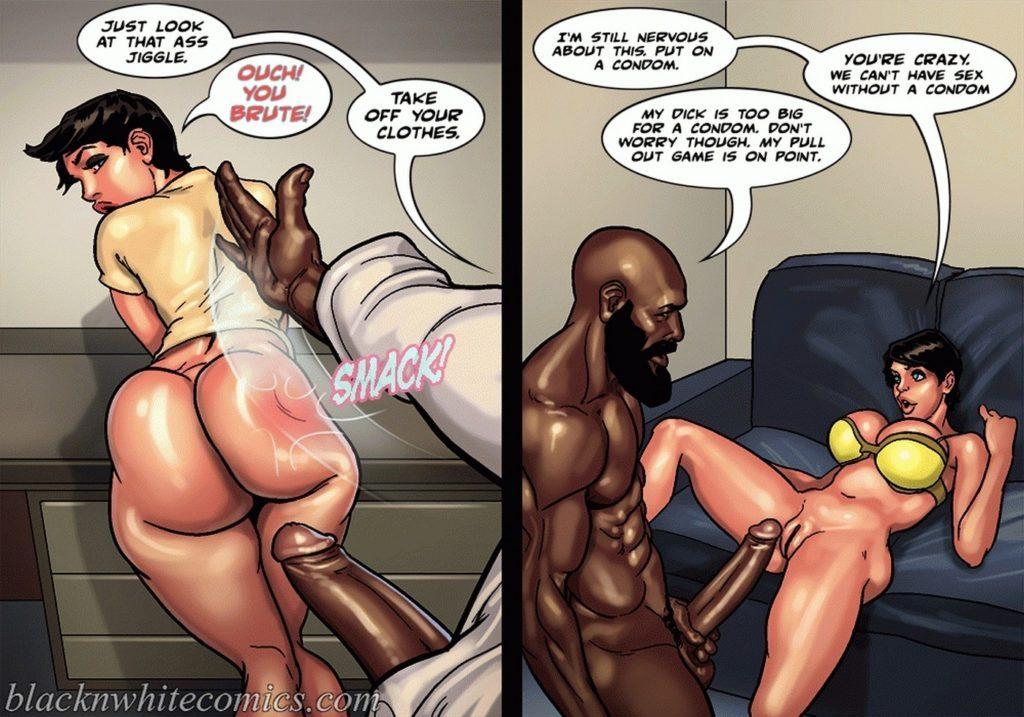 interracial sex comics