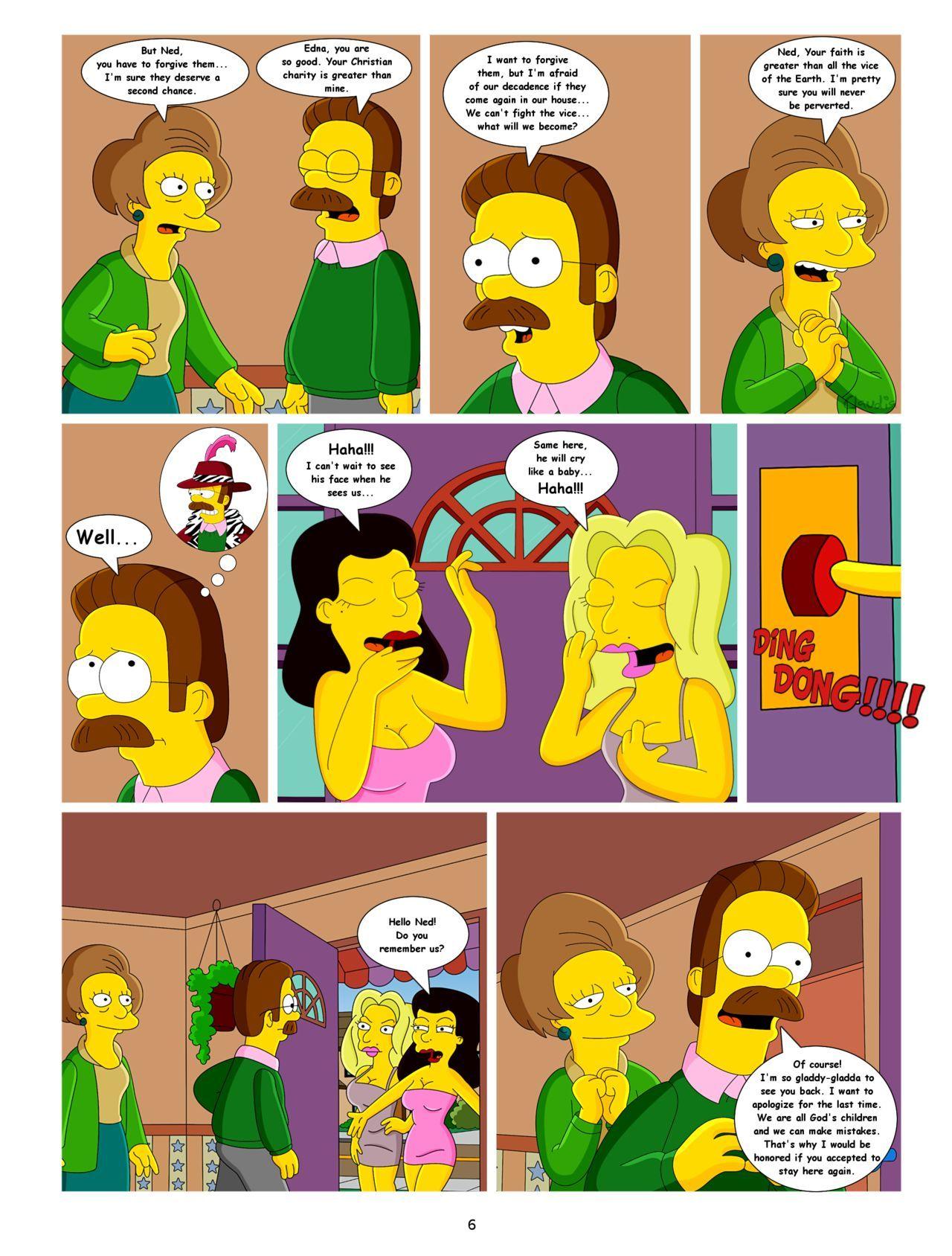 The simpsons sex comics