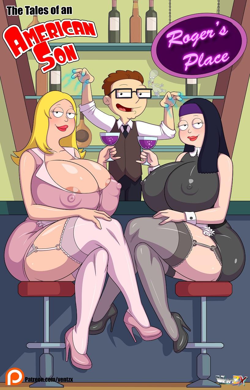 Ametican Dad Porn Parody arabatos sex comics - tales of an american son parody on