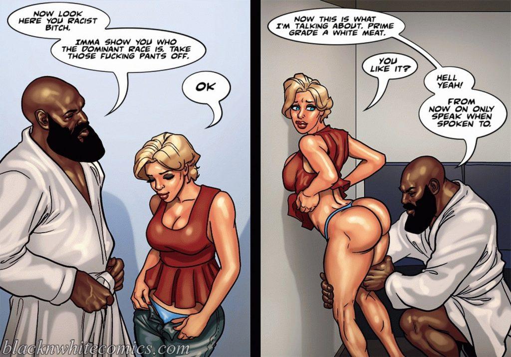 Older White Man Black Girl
