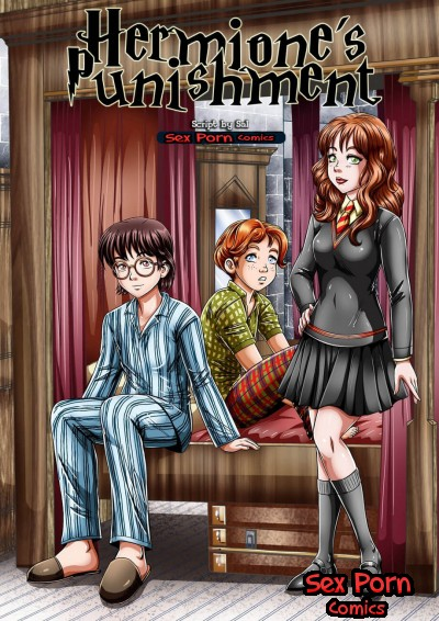 Harry Potter Comics - Hermione Threesome Punishment